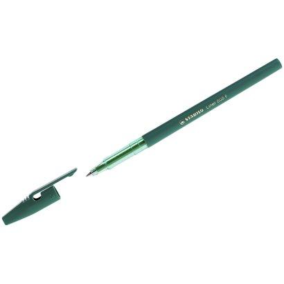"""Ручка шариковая Stabilo """"Liner 808"""" зеленая, 0,7мм. 808/36"""