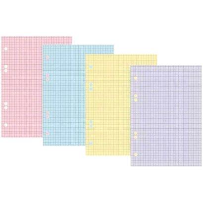 Сменный блок 200л., А5, Hatber, 4 цвета, тонированный 200СБ5В1_03509