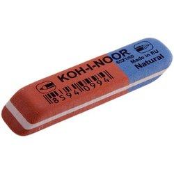 """Ластик Koh-I-Noor """"Blue Star"""" 60, скошенный, комбинированный, натуральный каучук, 57*14*8мм, арт.6521060010KDRU"""