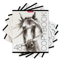 Тетрадь общая ученическая ErichKrause® 48 листов в клетку. Wild Horse, 49632