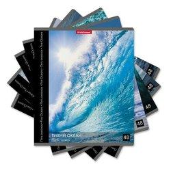 Тетрадь общая ученическая ErichKrause® 48 листов в клетку. Пять океанов, 49641