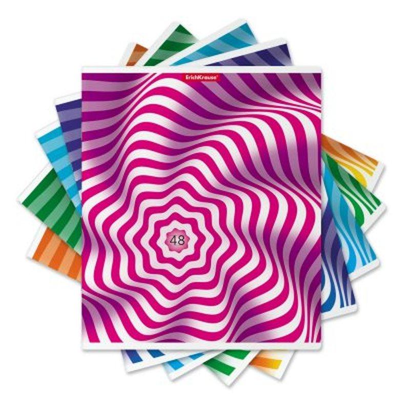 Тетрадь общая ученическая ErichKrause® 48 листов в линейку. Twist, твин-лак 49581