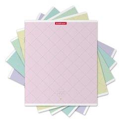 Тетрадь общая ученическая ErichKrause® 48 листов в клетку. Lady Style, конгрев + тиснение серебром 49582