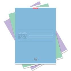 Тетрадь общая ученическая ErichKrause® 48 листов в клетку. FB Solution, А4, 48881