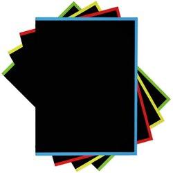"Тетрадь общая на кольцах ErichKrause® Accent, А5, 80 листов, клетка, ламинация глянцевая, структурное тиснение ""лён"" 53392"