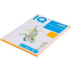 "Бумага IQ ""Color neon"" А4, 80г/м2, 100л. (оранжевый неон) NEOOR"
