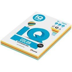 """Бумага IQ """"Color Intensive Mixed Packs"""" А4, 80г/м2, 250л. (5 цветов) RB02"""