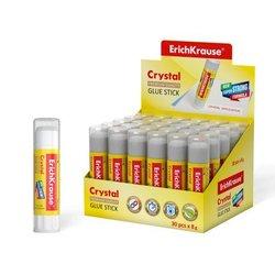 Клей-карандаш ErichKrause® Crystal, 8г 10999