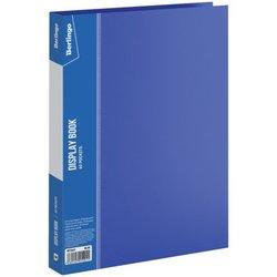 """Папка с 60 вкладышами Berlingo """"Standard"""", 21мм, 700мкм, синяя MT2443"""