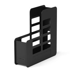 Подставка пластиковая для бумаг вертикальная ErichKrause® Techno, 75мм, черный 15049