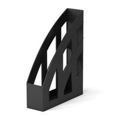 Подставка пластиковая для бумаг вертикальная ErichKrause® Office, 75мм, черный 15119