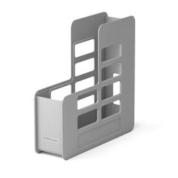 Подставка пластиковая для бумаг вертикальная ErichKrause® Techno, 75мм, серый 15226