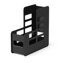 Подставка пластиковая для бумаг вертикальная ErichKrause® Techno, 100мм, черный 15227