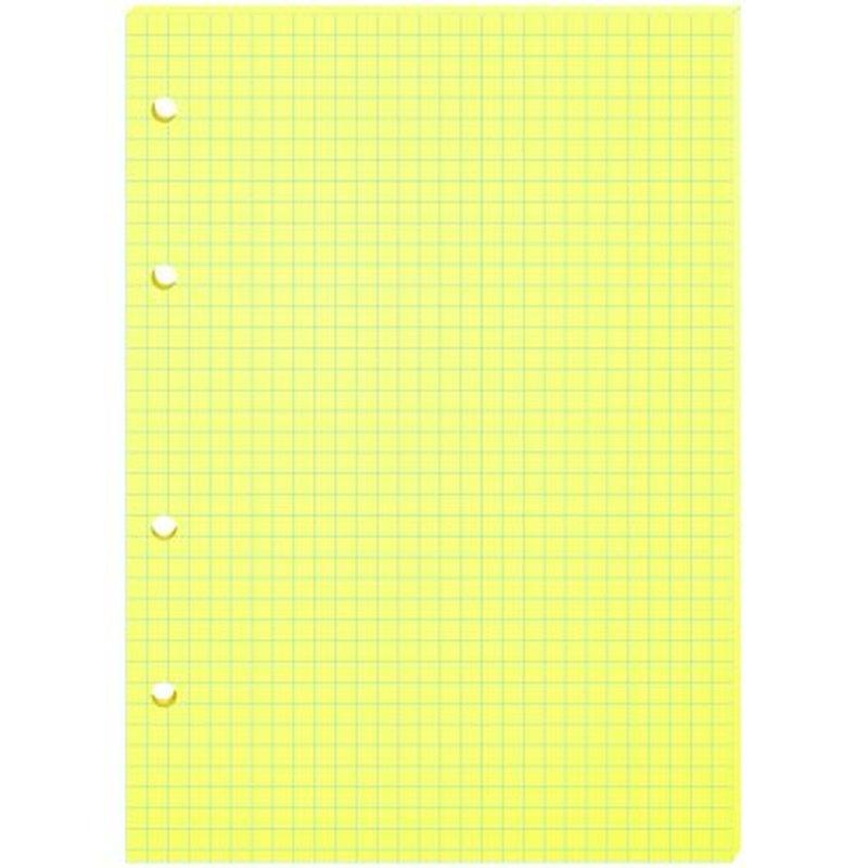 Сменный блок 80л., А5, ArtSpace, желтый, пленка т/у СБц80_217