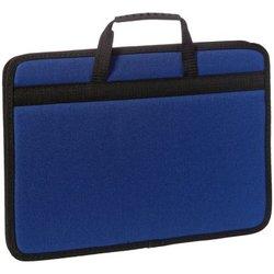 """Сумка деловая OfficeSpace """"Florentia"""" ткань, синий, 1 отделение, молния По_ТК_680"""