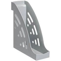 """Лоток для бумаг вертикальный Стамм """"Торнадо"""", серый. ЛТ400"""