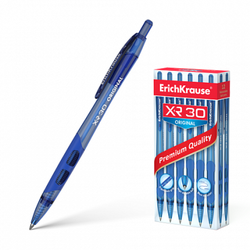 Ручка шариковая автоматическая ErichKrause® XR-30 Original, цвет чернил синий (в коробке по 12 шт.) 17721