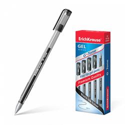 Ручка гелевая ErichKrause® G-Tone, цвет чернил черный (в коробке по 12 шт.) 17810