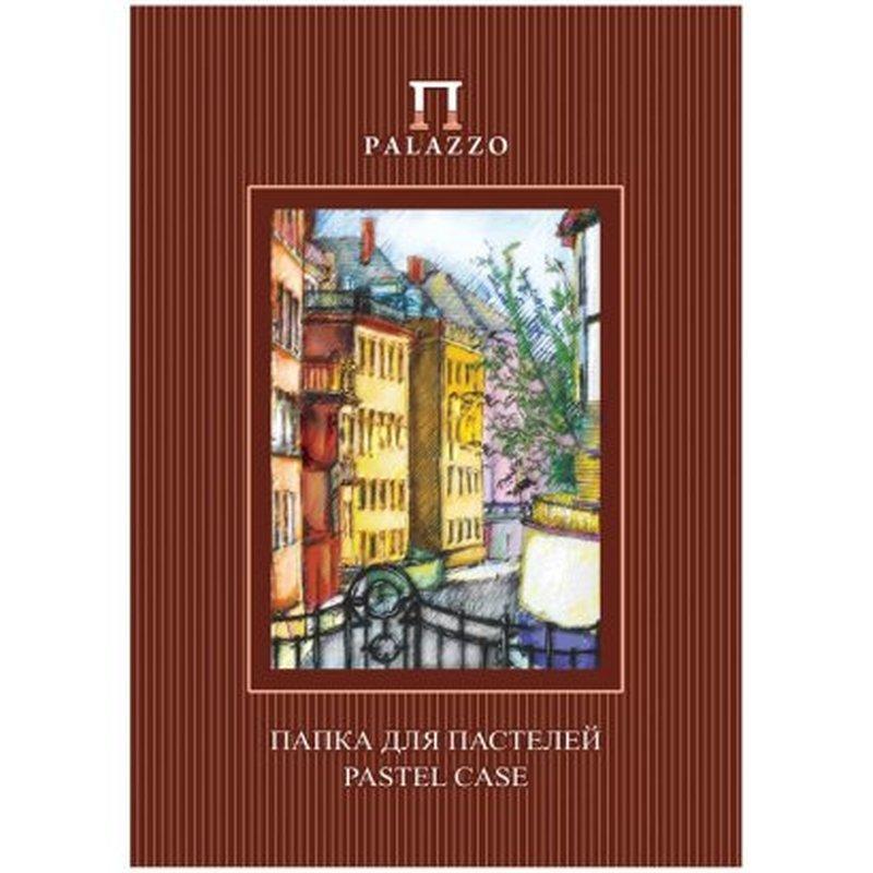 """Папка для пастелей 10л. А3 Лилия Холдинг """"Палаццо.Италия"""", 280г/м2, рисов. бумага, слоновая кость ПП3-сл"""