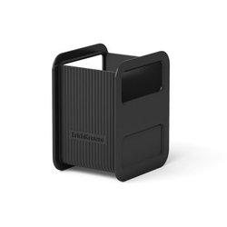 Подставка пластиковая для пишущих принадлежностей ErichKrause® Techno, черный 18505