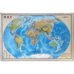 """Настольное покрытие OfficeSpace """"Карта мира"""", 38*59см 194915"""