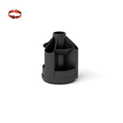 Подставка настольная пластиковая вращающаяся ErichKrause® Mini Desk, черный 19792