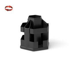 Подставка настольная пластиковая вращающаяся ErichKrause® Office, черный 19793