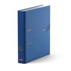 Папка–регистратор с арочным механизмом ErichKrause®, Work inside, А4, 50 мм, синий 19861