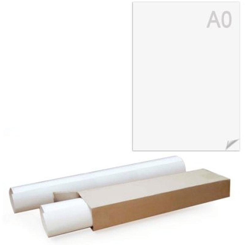 Ватман А0 (1200 х 840 мм), ГОЗНАК С-Пб, плотность 200 г/м2, КОМПЛЕКТ 5 листов, БЧ-2046