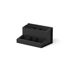 Подставка настольная пластиковая ErichKrause® Leader, черный 21746