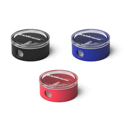 Пластиковая точилка ErichKrause® Universe с контейнером, цвет корпуса ассорти 21828