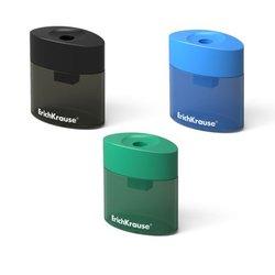 Пластиковая точилка ErichKrause® Smart&Sharp с контейнером, цвет корпуса ассорти 21833
