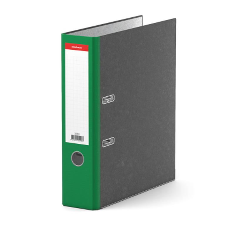 Папка–регистратор с арочным механизмом ErichKrause®, Original, А4, 70 мм, зеленый 21991