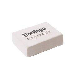 """Ластик Berlingo """"Mega Top"""", прямоугольный, натуральный каучук, 32*18*8мм BLc_00012"""