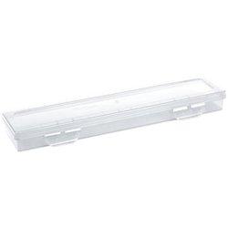 Пенал-футляр для кистей Стамм, 350*90*35мм, пластик, прозрачный ПН81