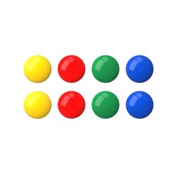 Магнит ErichKrause®, 3см (в пакете по 8 шт.). 22461