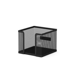 Подставка металлическая для бумажного блока прямоугольная ErichKrause® Steel, черный 22505