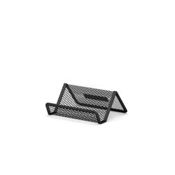 Подставка металлическая для визитных карточек ErichKrause® Steel, черный 22507