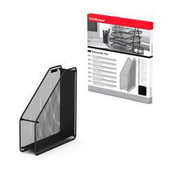 Подставка металлическая для бумаг вертикальная ErichKrause® Steel, черный 22509