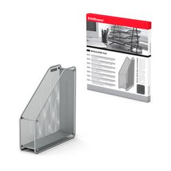 Подставка металлическая для бумаг вертикальная  ErichKrause® Steel, серебряный 22510