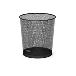 Корзина металлическая для бумаг ErichKrause® Steel, 12 л. черный 22515