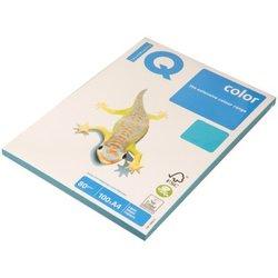 """Бумага IQ """"Color intensive"""" А4, 80г/м2, 100л. (светло-синий) AB48"""