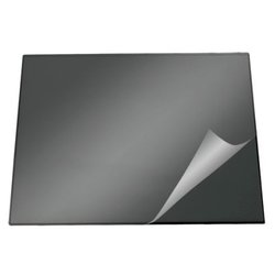 Настольное покрытие Durable 52*65см, с прозрачным верхним листом,черное 7203-01