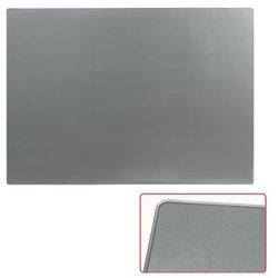 Коврик-подкладка настольный для письма (655х475 мм), прозрачный, серый, ДПС, 2808-506