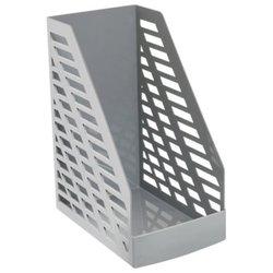"Лоток вертикальный для бумаг, увеличенная ширина (250х160х300 мм), СТАММ ""XXL"", серый, ЛТ900"