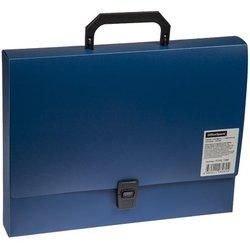 Папка-портфель  1 отделение OfficeSpace, 600мкм, А4, синий F01P2_10260