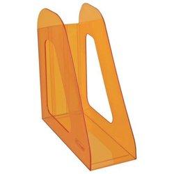 """Лоток для бумаг вертикальный Стамм """"Фаворит"""", тонированный, цвет манго ЛТ716"""