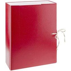 Короб архивный с завязками OfficeSpace разборный, БВ,  80мм, ассорти, клапан картон, до 700л. 239074