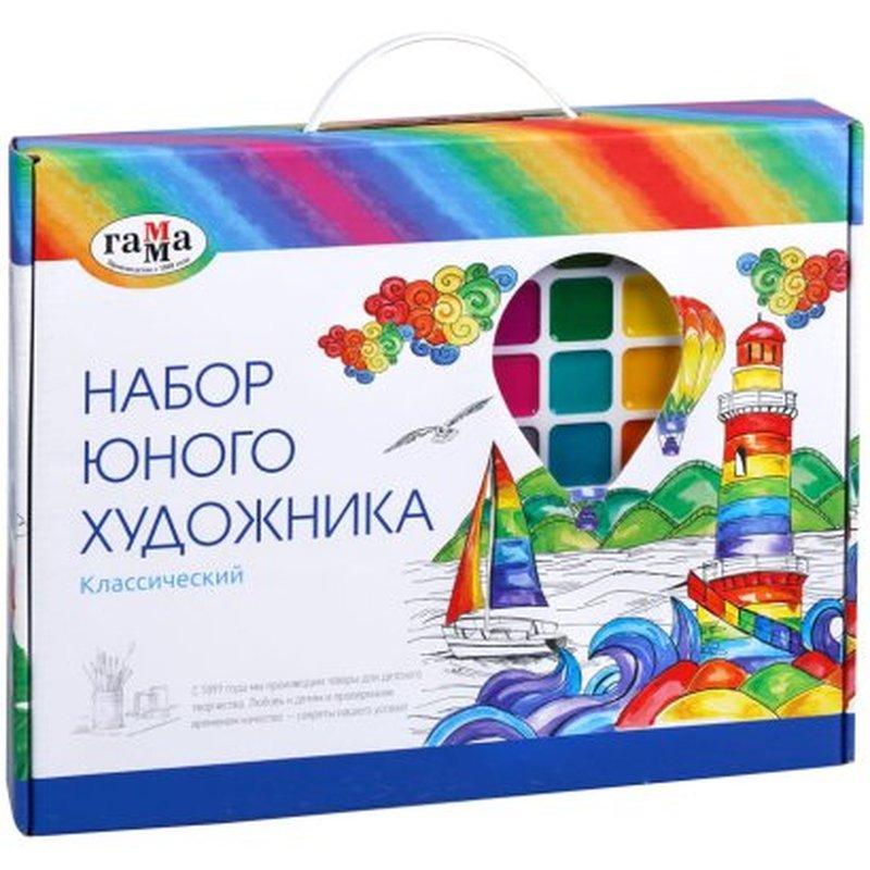 """Набор юного художника Гамма """"Классический"""", 13 предметов, в подарочной коробке 2405191"""