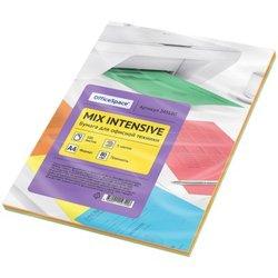 Бумага цветная OfficeSpace intensive mix А4, 80г/м2, 100л. (5 цветов) 245180